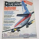 Popular Mechanics December 1983 Blizzard Disaster Air Tragedy Build Kit Planes