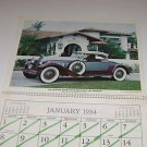 Cars of Yesterday Calendar Crumpton Welding Supply Inc Tampa FL