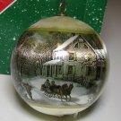 """Hallmark Christmas Ornament  Currier & Ives """"Farm Scene"""""""