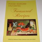 "Food Editors Favorites ""Treasured Recipes"" Barbara Gibbs Ostmann Jane Baker PB"