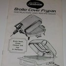 Sunbeam Broiler Cover Frypan Recipe & Instruction Booklet 1974