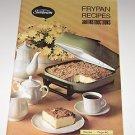 Vintage Sunbeam Frypan Recipes & Instructions 1972