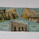Vintage Arturo's Cafe Monterrey Mexico Postcard