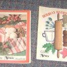 (2) Ashland Gazette Waverly News Nebraska Christmas Recipe Magazines