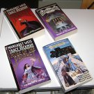 (4) Margaret Weis & Tracy Hickman Fantasy/Science Fiction paperbacks