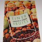 Karo Corn Syrup Canned & Frozen Fruits Recipe Booklet 1949