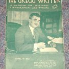 The Gregg Writer Magazine for Secretaries Daniel W. Bell cover Sept 1935