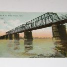 "Vintage Postcard ""Union Pacific R.R Bridge"" Omaha Nebraska"