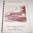 John T. Hartman Preschool P.T.A Kansas City Missouri cookbook