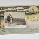 "Vintage Postcard ""Return of the Mayflower""  Thanksgiving Greeting"