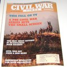 Civil War Times Illustrated 1990 Civil War Art - Indians Kill Rebels