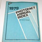 Sams 1979 Photofact Annual Index