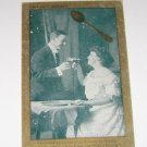 "Vintage Postcard ""Spooners Delight"" Man & Woman Toasting 1908"