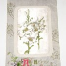 Vintage Postcard A Happy Easter Embossed early 1900's