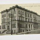 Vintage Postcard Omaha Club Building Omaha Nebraska 1912