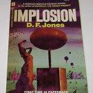 D F Jones Implosion 1967 Paperback