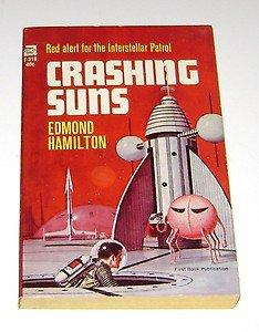 Crashing Suns by Edmond Hamilton PB 1965