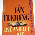Live and Let Die 1962 James Bond Ian Fleming PB