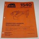Rhino 1540 Rear Mounted Blade Operators Manual