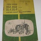 John Deere RL2 DL2 RL4 DL4 Crop Cultivators Manual
