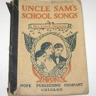 Uncle Sam's School Songs No 1 & 2 Hope Publishing Co 1904