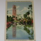 Vintage Postcard Singing Tower MTN Lake Sanctuary Lake Wales Florida PM'd 1939