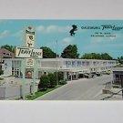 Vintage Postcard TraveLodge Motel Galesburg Illinois