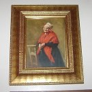 "C & A Richards ""Peasant Woman at Prayer"" P-16 Print & Frame"