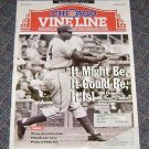 Chicago Vine Line Cubs Magazine January 1996 Greatest Home Runs Cover