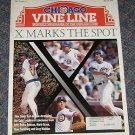 Chicago Vine Line Cubs Magazine March 1996 Andre Dawson Mark Grace G. Maddux