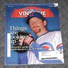 Chicago Vine Line Cubs Magazine April 2009 Ryan Dempster Cover