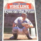 Chicago Vine Line Cubs Magazine September Febuary 1993 Rick Wilkins Cover