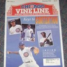 Chicago Vine Line Cubs Magazine Febuary 1994 Keys to contention