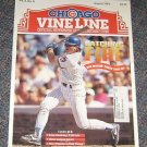 Chicago Vine Line Cubs Magazine August 1993 Rick Williams Cover