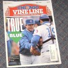 Chicago Vine Line Cubs Magazine May 1992 Jim Lefbvre Cover