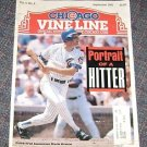Chicago Vine Line Cubs Magazine Sept 1991 Mark Grace Cover