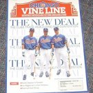 Chicago Vine Line Cubs Magazine August 1995 Trades Zeile, Servais Cover