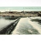 Vintage Postcard Black Eagle Dam Great Falls Montana PM'd 1913