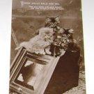 "Vintage Postcard Three jolly pals ""Three cats"" PM'd 1912"