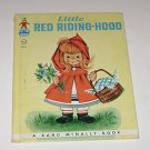 "Rand McNally ""Little Red Riding Hood"" 1958"