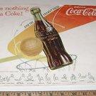 Vintage Coca Cola Basketball Advertisement
