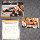 (3) Tony Stewart souvenirs Photo Album ~ Dry Erase Board ~ Poster