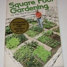 Square Foot Gardening by Mel Bartholomew (1981, Paperback, Revised)
