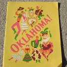 Vintage Theater Guild Co of Oklahoma Music Rodgers & Hammerstein Program Guide