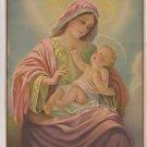 Vintage Madonna and Child art print