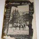 Buckaroo Ballads West in Songs & Pictures Kenneth S. Clark 1940