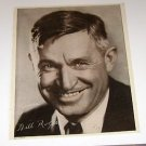 Will Rogers picture poster