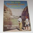 Las Vegas Union Pacific Railroad fold out travel brochure
