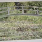 Masterpiece Painting No 4 The Water Pond art print by Claude Monet