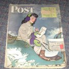 Saturday Evening Post  January 29 1944 Alex Ross Cover